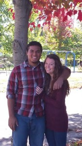 Tori Craw and her boyfriend of one year and nine months, Daniel Behan Morillo. Photo courtesy of Tori Craw.
