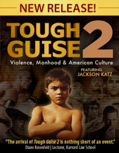 """""""Tough Guise 2,"""" a documentary by Jackson Katz, explores the connection between violence and American media's warped depiction of masculinity."""