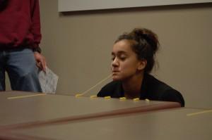 "Genessis Martinez playing ""Noodling Around"". Photo by Meredith Spicher"