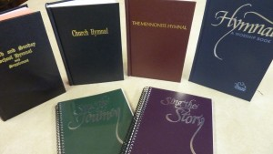 A MennoMedia blog post lists some of the hymnals Mennonites have called their own.