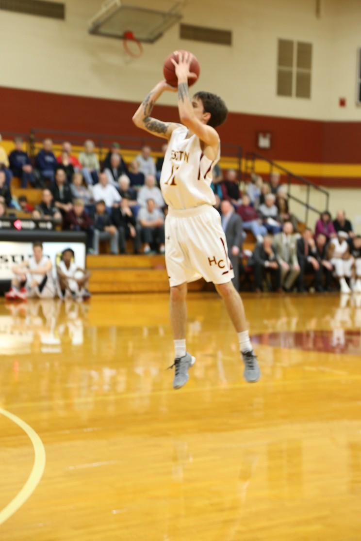 Sophomore Cody Halvorson. Photo by Tori Byler