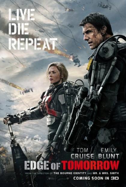 """Edge of Tomorrow"" movie poster. Source: imdb.com"