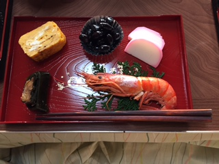 A New Year's meal in Japan. Photo courtesy of Kaho Yanagidaira