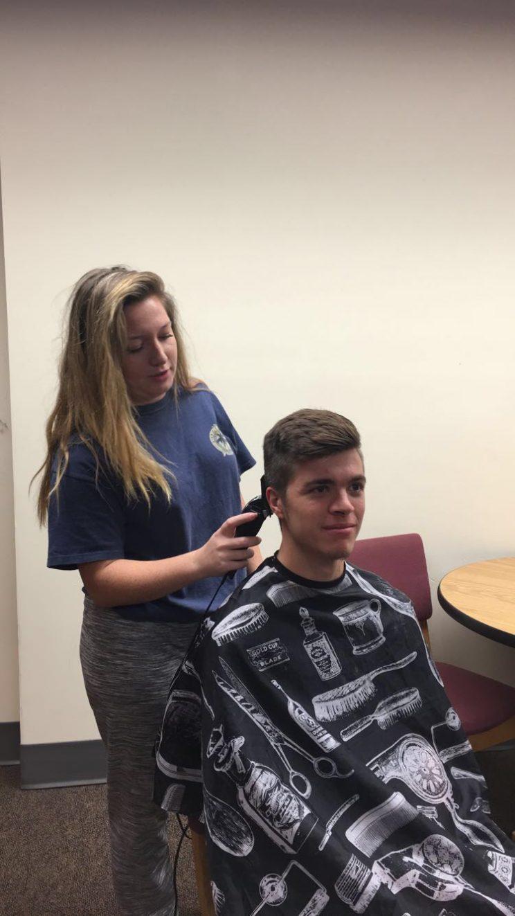 Dorm Room Haircuts Trim The Cost Of Beauty Hesston College Horizon