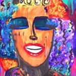 Pop Art Women by Tori Wheeler. Painting