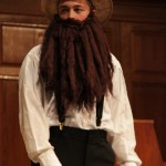 """Sophomore Tylan Coblentz, also known as """"Bill Coblentz"""" dresses up as an Amish man, as one of the Bills and Norma's acts throughout the show."""