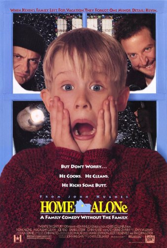 "Home Alone (1990):              ""I had trouble choosing between the first film and its New York City sequel for classic Christmas mayhem."""