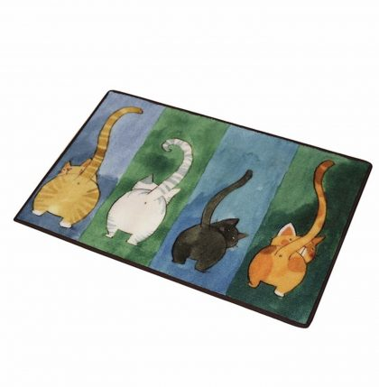 "Cute rugs ($12.99)     ""I put a rug under my bed, it is very comfortable to step on it before walking into carpet."""