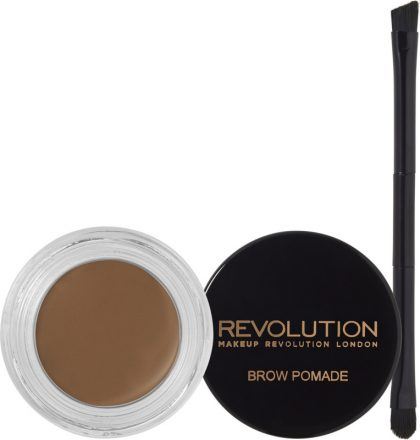 Revolution brow pomade ($9): It has good quality and it's almost as good as Anastasia Beverly Hills but much more affordable, and it comes with a brush.