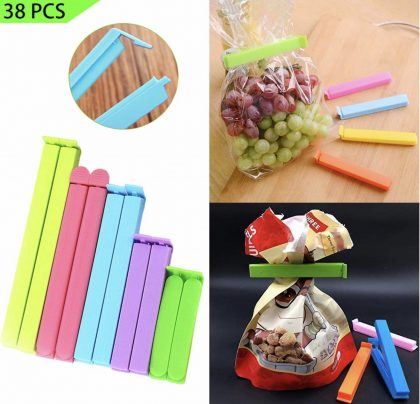 Food Clips ($6.97): These clips are useful to keep ants away from opened snacks.